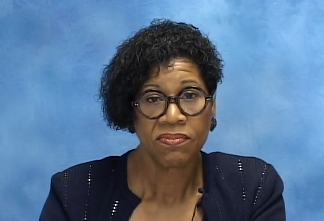 Dr. Rosalind Griffen, as seen during her video testimony in this matter.